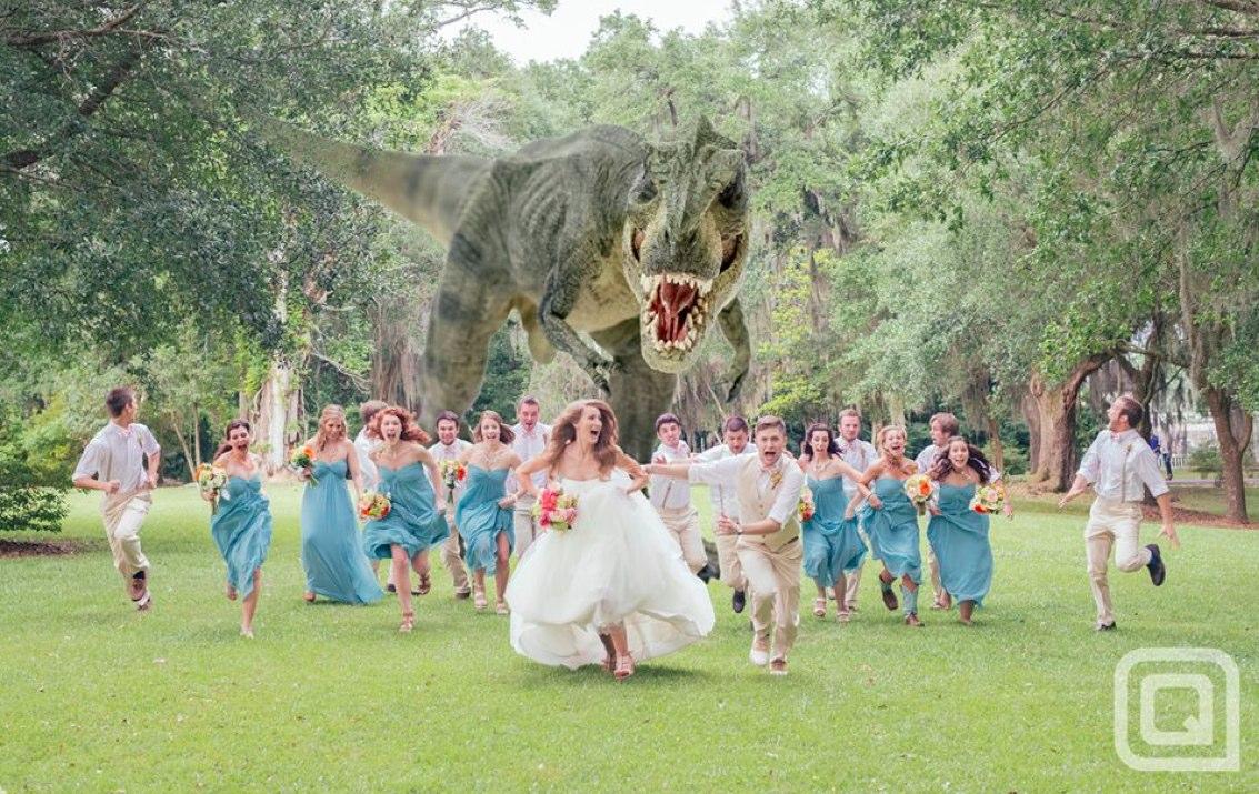 boda efectos especiales