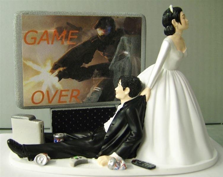 tarta boda videojuegos