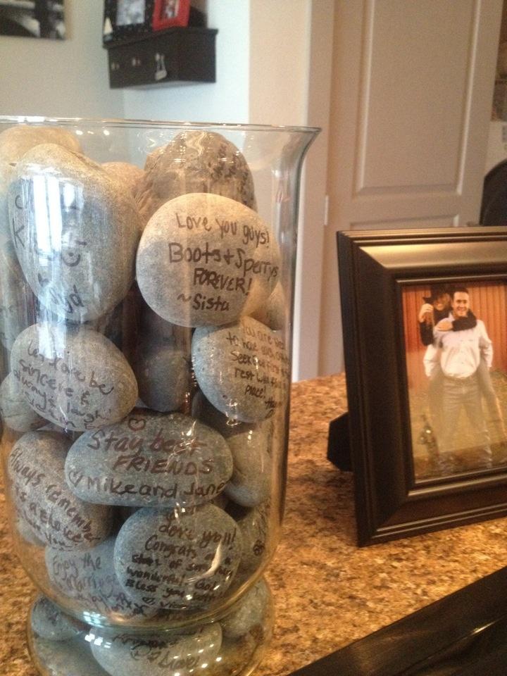 piedras boda
