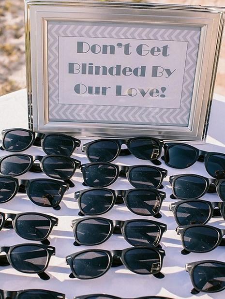 gafas de boda