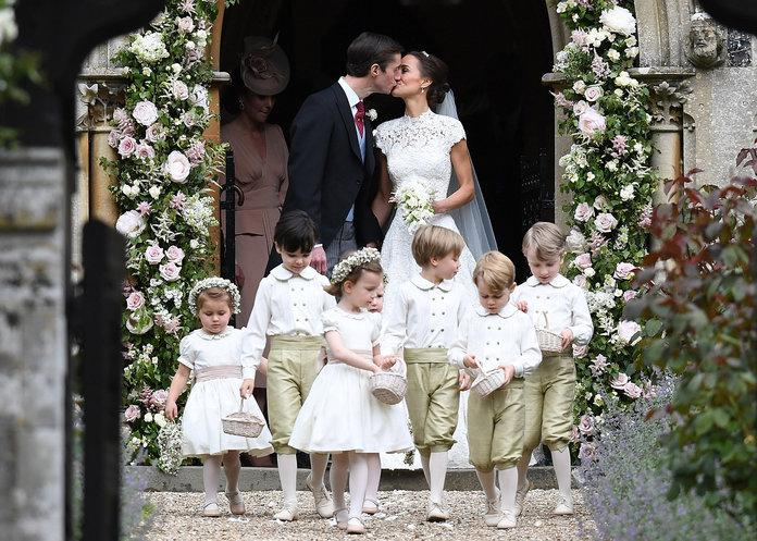 Los chaqués de la boda de Pippa Middleton