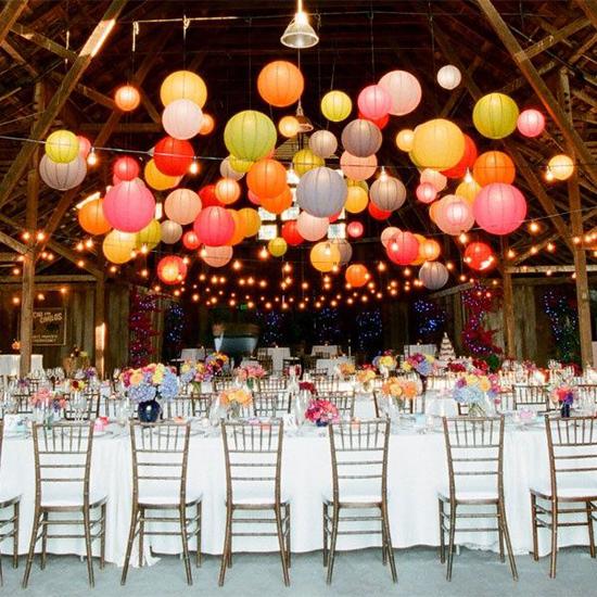 Deco boda: Las mesas