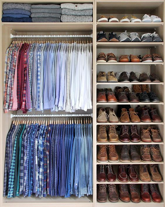 camisas por color
